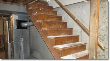 report homemade electrical Stairs